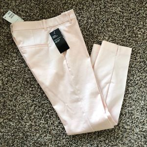 Light pink tapered pants from H&M